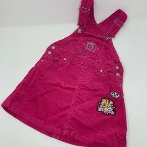 Corduroy Disney Store exclusive overall dress 5/6